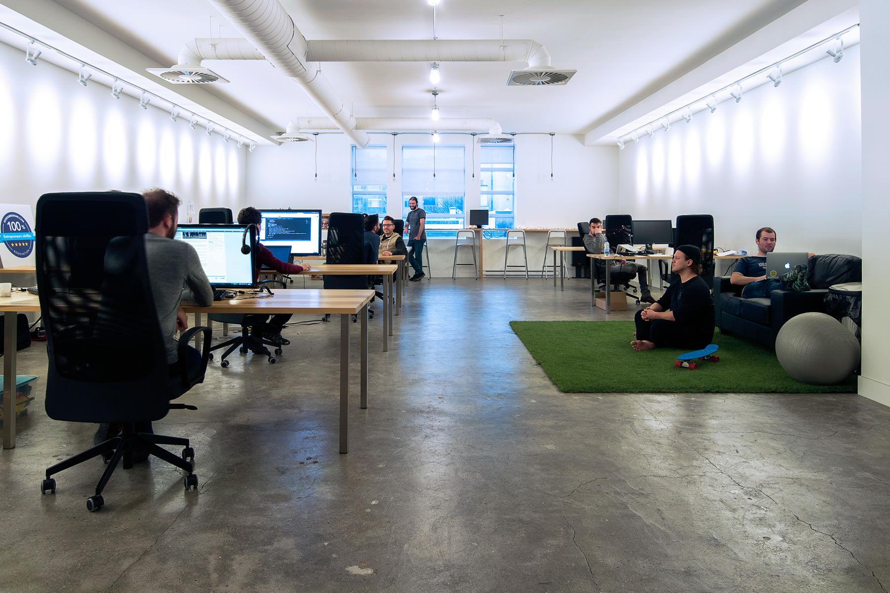 Bnkr coworking for Espace de travail collaboratif